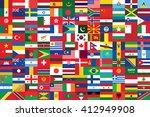 world flags background vector...   Shutterstock .eps vector #412949908