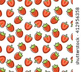 seamless pattern with red...   Shutterstock .eps vector #412956358