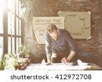 business corporate enterprise... | Shutterstock . vector #412972708