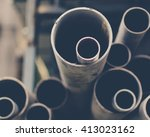 Stacks Of Pvc Water Pipes....