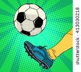 Kick A Soccer Ball