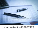 business accounting   business... | Shutterstock . vector #413057422