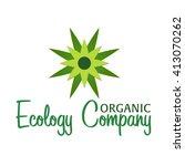 organic food. restaurants and... | Shutterstock .eps vector #413070262