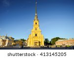 Peter And Paul Fortress  St...
