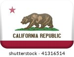 california flag rectangular... | Shutterstock . vector #41316514