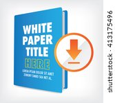 download the whitepaper or... | Shutterstock .eps vector #413175496