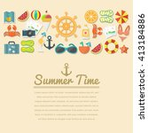 Summer Icon Template