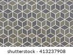 abstract retro geometric...   Shutterstock . vector #413237908