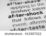 Small photo of Aftershock