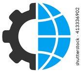 international manufacture... | Shutterstock .eps vector #413336902