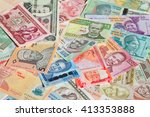 variety of the african banknotes | Shutterstock . vector #413353888