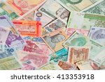 variety of the african banknotes | Shutterstock . vector #413353918
