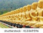 nakornnayoke  thailand   april... | Shutterstock . vector #413369596
