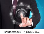 software engineering technology ... | Shutterstock . vector #413389162