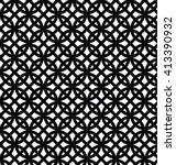 geometric pattern. editable... | Shutterstock .eps vector #413390932