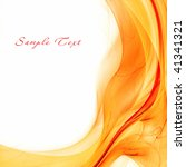 abstract orange background | Shutterstock . vector #41341321