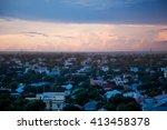 dusk in mogadishu | Shutterstock . vector #413458378