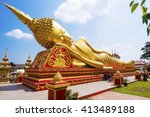 Reclining Buddha Statue At Wat...