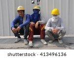 bangkok  thailand   february 1  ...   Shutterstock . vector #413496136