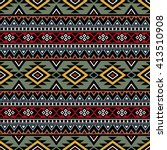 tribal aztec print template for ...   Shutterstock .eps vector #413510908