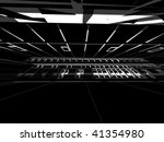 abstract modern architecture | Shutterstock . vector #41354980