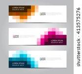 vector design banner... | Shutterstock .eps vector #413575276