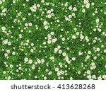 Field Of Green Grass With...