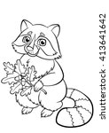 coloring pages. animals. little