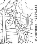 Coloring Pages. Animals. Littl...