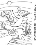 Coloring Pages. Birds. Cute...