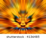 kaleidoscopic interference... | Shutterstock . vector #4136485