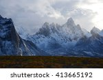 Tombstone Mountain Landscape I...