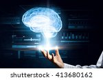 innovation technologies in use | Shutterstock . vector #413680162