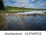 Headwaters of Mississippi at lake Itasca, Minnesota