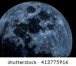 Blue Moon Up Close