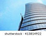 modern facade   Shutterstock . vector #413814922