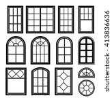 Collection Of Vector Windows...
