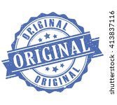 original retro rubber stamp... | Shutterstock .eps vector #413837116