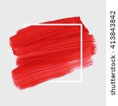 original grunge brush art paint ...   Shutterstock .eps vector #413843842