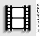 reel of film sign | Shutterstock .eps vector #413874298