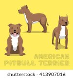 Dog American Pitbull Terrier...