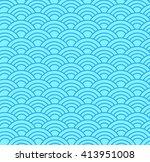 wave  pattern   Shutterstock .eps vector #413951008