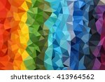 multicolored abstract... | Shutterstock . vector #413964562