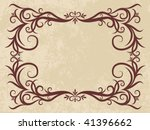 elegant vintage background | Shutterstock .eps vector #41396662