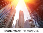 office building as the... | Shutterstock . vector #414021916