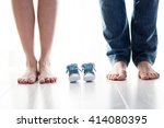 Future Mom And Dad Feet With...