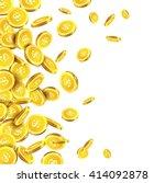 vector illustration of falling... | Shutterstock .eps vector #414092878