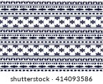 geometric ethnic pattern design ... | Shutterstock .eps vector #414093586