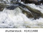 Raging Water Stream Of The...