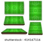 vector illustration of football ... | Shutterstock .eps vector #414167116